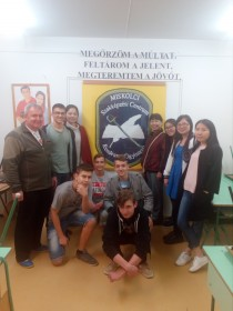 05/04/2017 Cooking lesson at he Szemere Bertalan Vocational School (1)